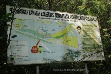 Pengadaan kawasan Konservasi Mangrove Baros di Kabupaten Bantul