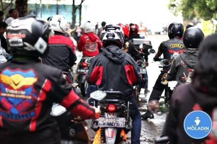 Memulai pelatihan Safety Riding
