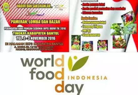 Logo hari pangan sedunia ke 36 tahun 2016