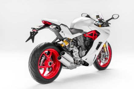 Buritan/ sisi belakang Ducati supersport