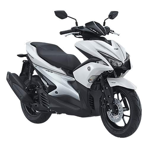 Yamaha AEROX 155 VVA warna putih