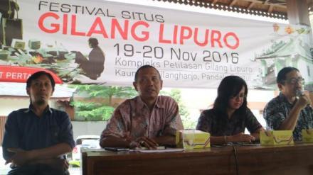Presscon acara Festival Situs Gilanglipuro -- tribunjogja.com