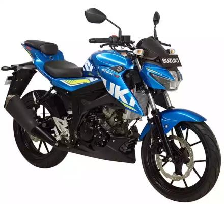 Suzuki GSX-S 150 warna Metalluc Triton Blue