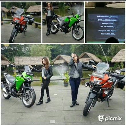 Launching Kawasaki Versys-X 250