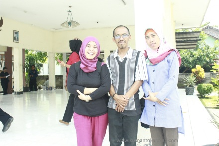 Peserta dari Bekasi : Rika Rogistiati & Novi Arianti