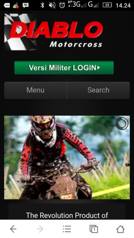 ViewView website Diablo motocross Indonesia