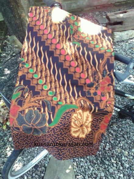 Motif batik parang