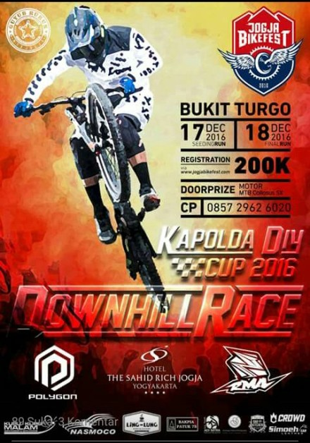 Downhill Race Kapolda Cup 2016 Bukit Turgo