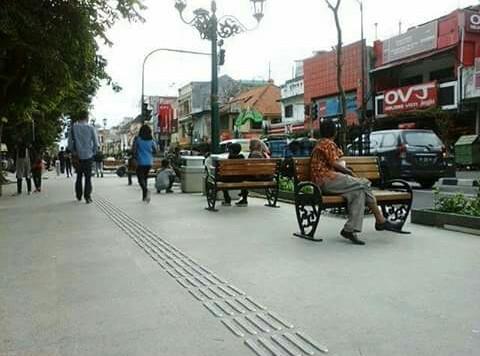 Kawasan pedestrian Malioboro