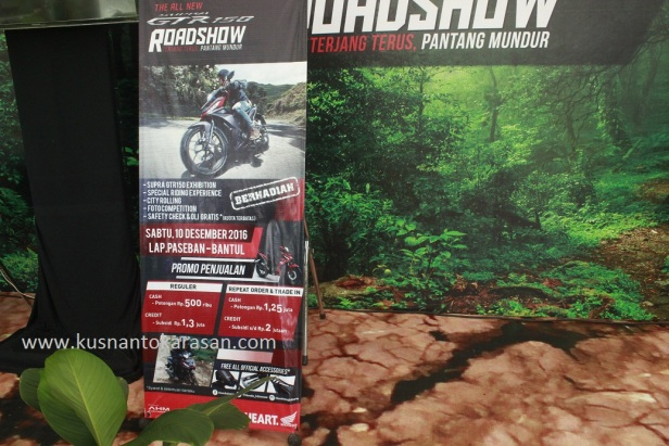 Road Show Supra GTR 150 di lapangan Paseban Bantul