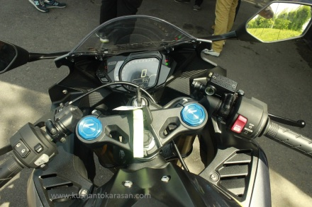 Dashboard/kokpit all new Honda CBR 250RR