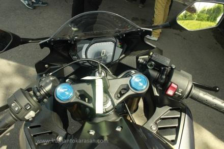 Dashboard/kokpit all new Honda CBR 250RR