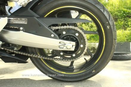 Gear belakang all new honda CBR 250RR jumlah 41