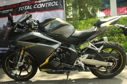 Sisi kiri all new Honda CBR 250RR
