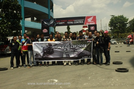 Fun Race all new Honda CBR 250 RR di Yogyakarta