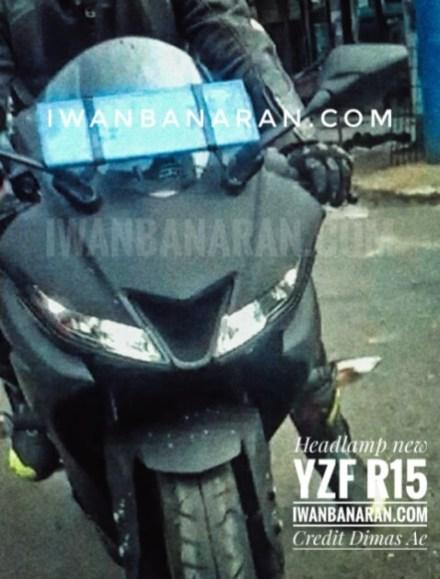 Spyshot Headlamp Yamaha R15 terbaru