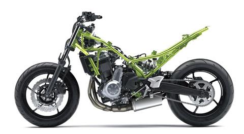 Frame Kawasaki Z 650