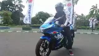 Test ride Suzuki GSX-R 150