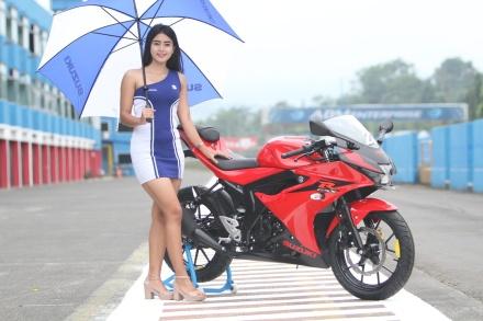 suzuki GSX-R 150 warna merah