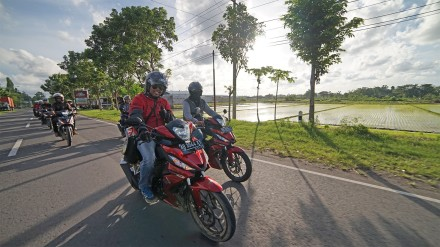 Ilustrasi - All New Honda Supra GTR 150