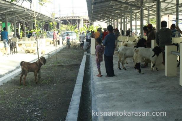 Drainase pasar Hewan Pandak