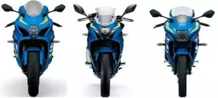 Perbandingan Tampak depan Suzuki GSX-R 150,250 & 1000