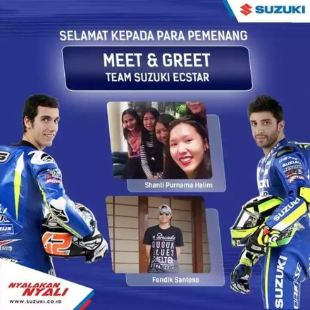 Pemenang Quiz Meet & Greet