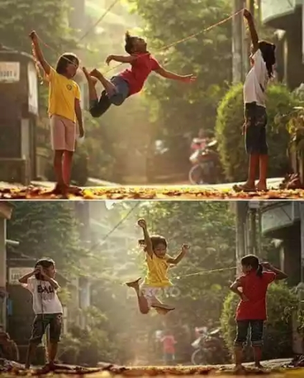 Lompat tali - yeye