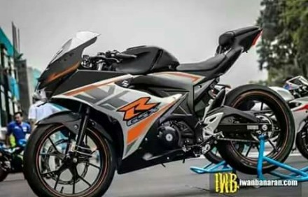 Decal Suzuki GSX-R 150