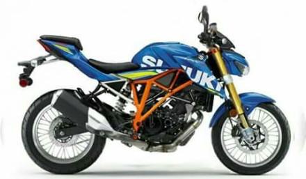 Suzuki GSX-R 150 versi frame trelis