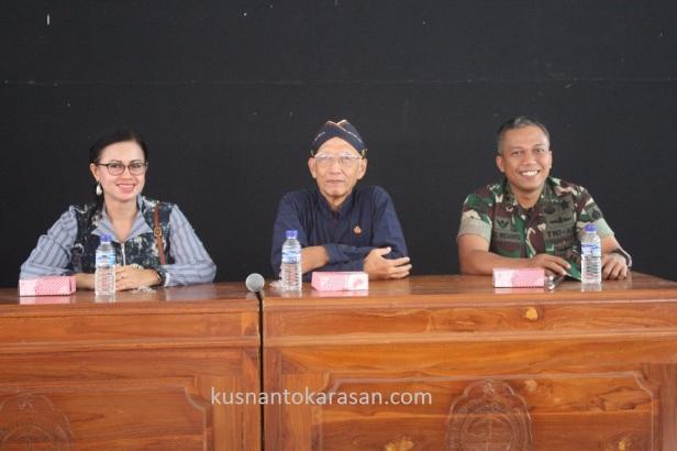 Ibu Erlina,KRT H. Jatiningrat, SH, ka kodim Bantul