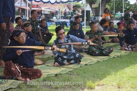 KRT H. Jatiningrat, SH, Ibu Erlina Hidayati, SIP, MM, Dandim Bantul