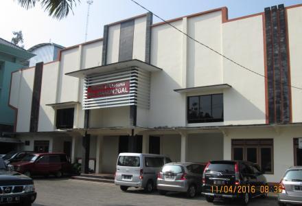 Tampak depan Balai Desa Palbapang (website desa Palbapang)