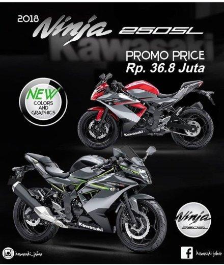 Ini Nih Daftar Harga Promo Ninja 250sl Se Indonesia Bandung